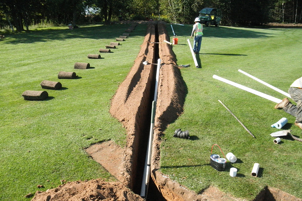 Golf Course Irrigation | Duininck Golf Portfolio | Golf Course Renovation, Bunkers, Irrigation, Architecture, Construction